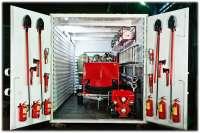 Модульный стационарный пожарный пост «ВОДОПАД»